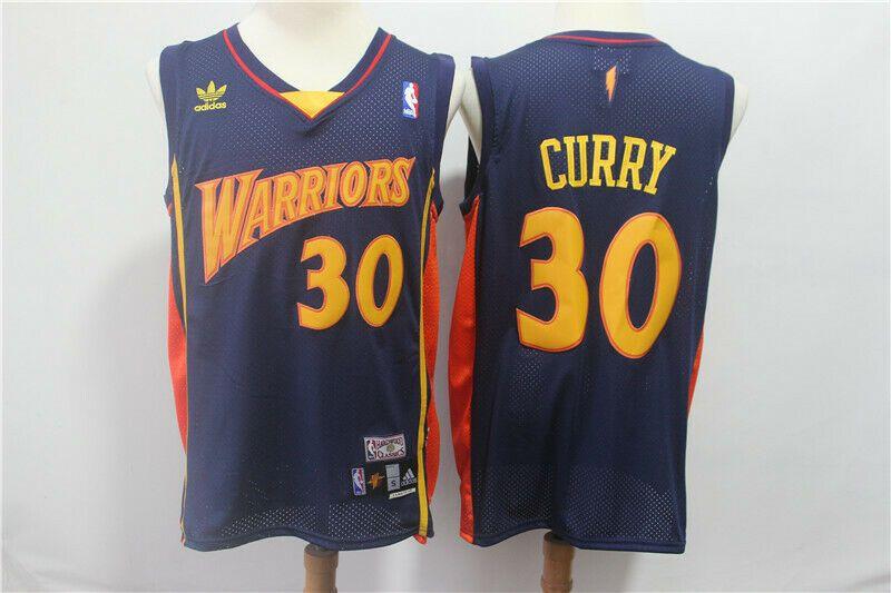 best sneakers b0b8e f8a9c Golden State Warriors #30 Stephen Curry Basketball Jersey ...