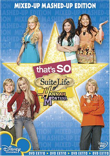 That S So Suite Life Of Hannah Montana Mixed Up Mashed Up Edition Buena Vista Home Video Hannah Montana Suite Life Disney Channel