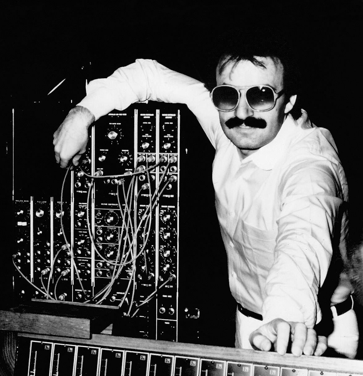 Giorgio Moroder #ThrowbackThursday Giorgio in the studio (1979)