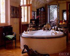 Versace Badezimmer ~ Donatella versaces bathroom for home inspiration pinterest