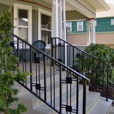bungalow exterior handrails - Google Search | Haus Related ...