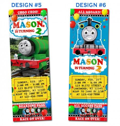 Thomas the train and friends birthday ticket invitations printable c thomas the train and friends birthday ticket invitations printable c fdb filmwisefo