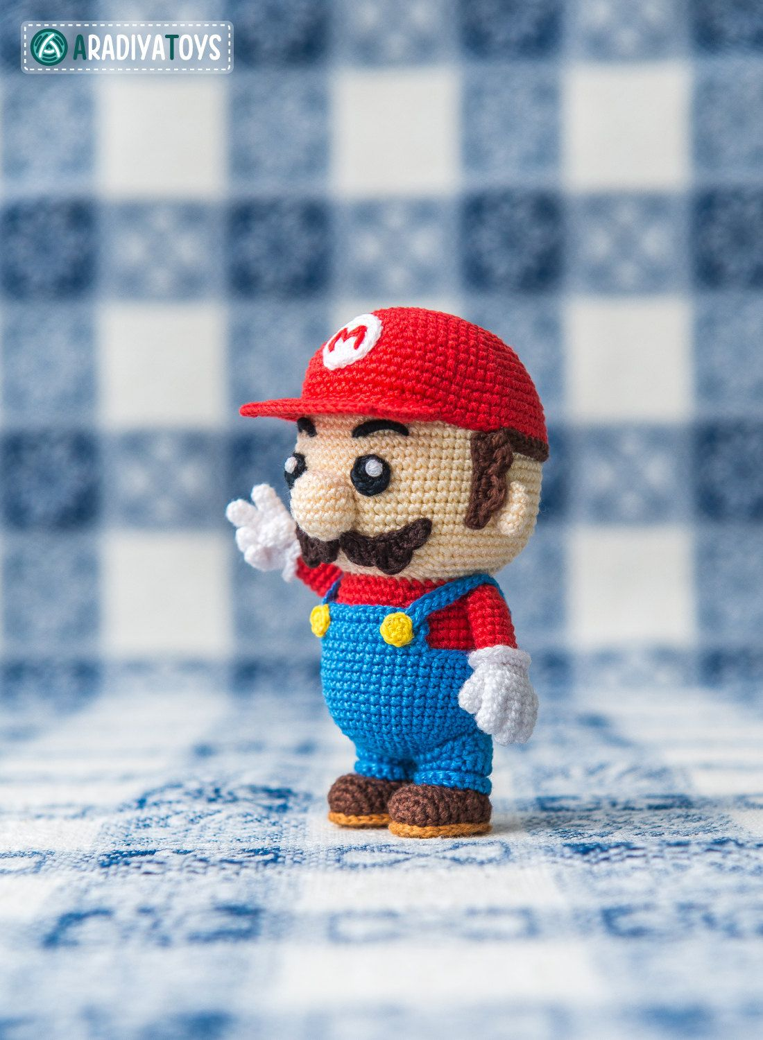 Crochet Pattern of Mario from \