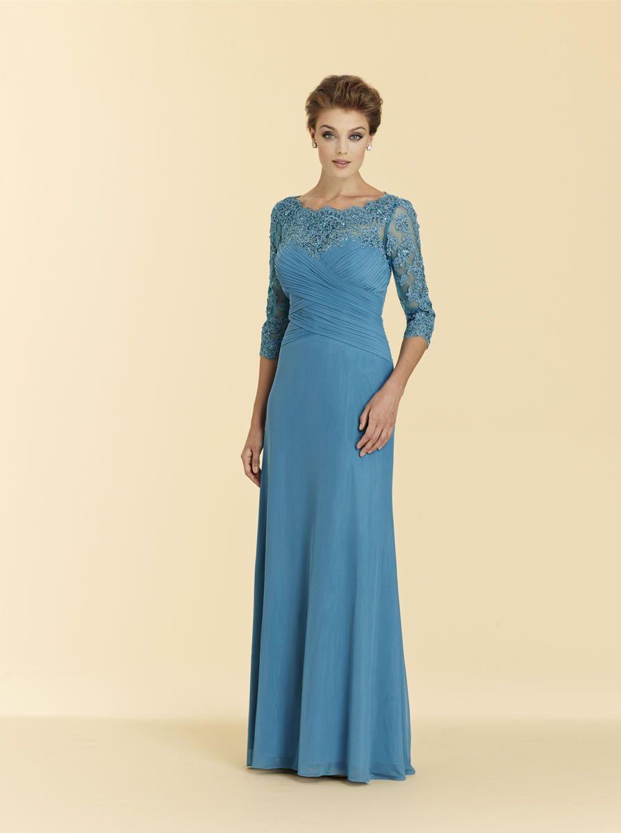 Rina Di Montella 2036 Lace Mother of the Bride Dress ...