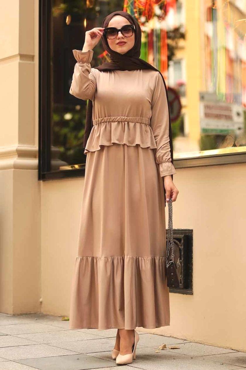 Photo of #Neva #Style # – Neva Style – Mink Hijab Dress 1590V