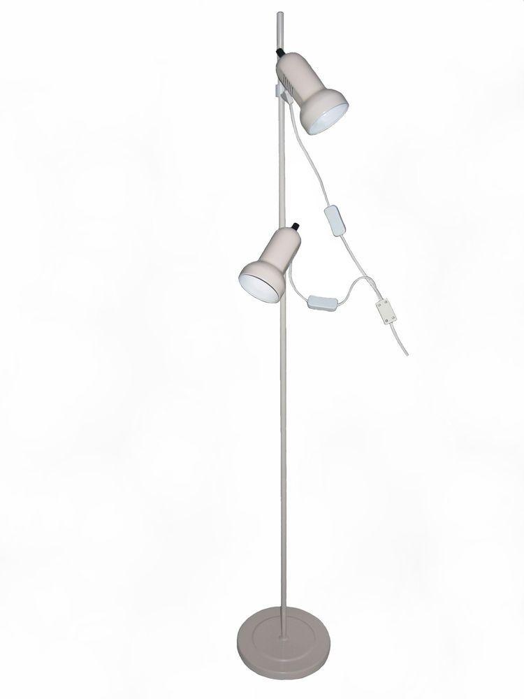 NEW Mars Floor Lamp Adjustable Task Light Beige Modern Sturdy DECROLUX