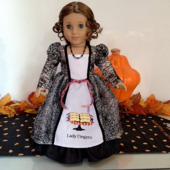 American Girl Doll Clothes Lady Fingers A by LollyDollyDesigns, $36.00