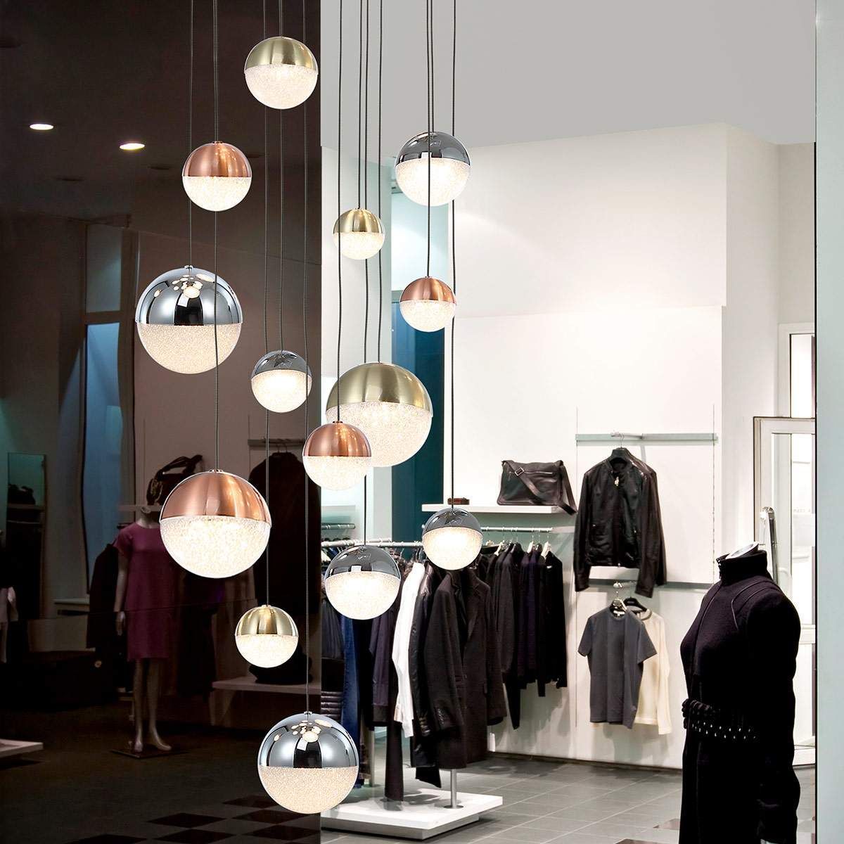 Designer Pendel Und Hangeleuchten Sphere Von Schuller Silber Led Hangeleuchte Led Hangelampen Und Led Tischleuchte