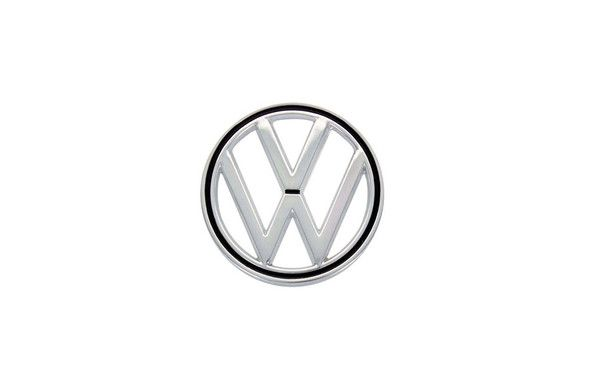 The front hood emblem on your vintage Volkswagen is a symbol of German automotive manufacturing at the highest level. These are OEM German and come complete with mounting hardware.  Fits 1964 - 1973 Beetles. 1971 - 1972 Super Beetles. 1966 Type 3. #VintageVW