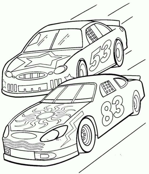 Nascar Coloring Page Online Letscolorit Com Race Car Coloring Pages Truck Coloring Pages Cars Coloring Pages