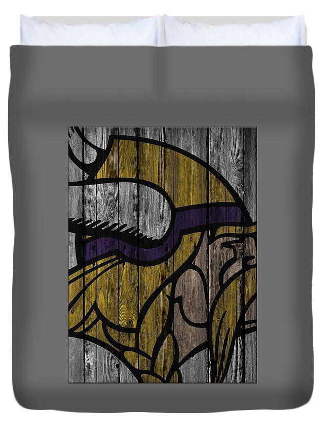 Minnesota Vikings Wood Fence Duvet Cover for Sale by Joe ...
