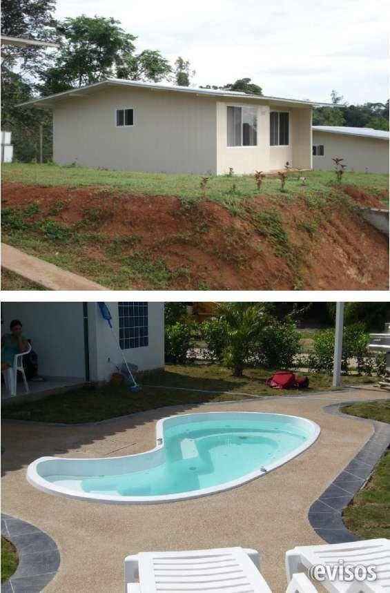 Venta de casas prefabricadas con piscina o jacuzzi ofertaaaaaa lugares que visitar - Casa con piscina ...