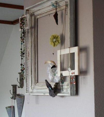 id e d co le cadre bijoux brico d co tutos et id es pinterest d co et bijoux. Black Bedroom Furniture Sets. Home Design Ideas