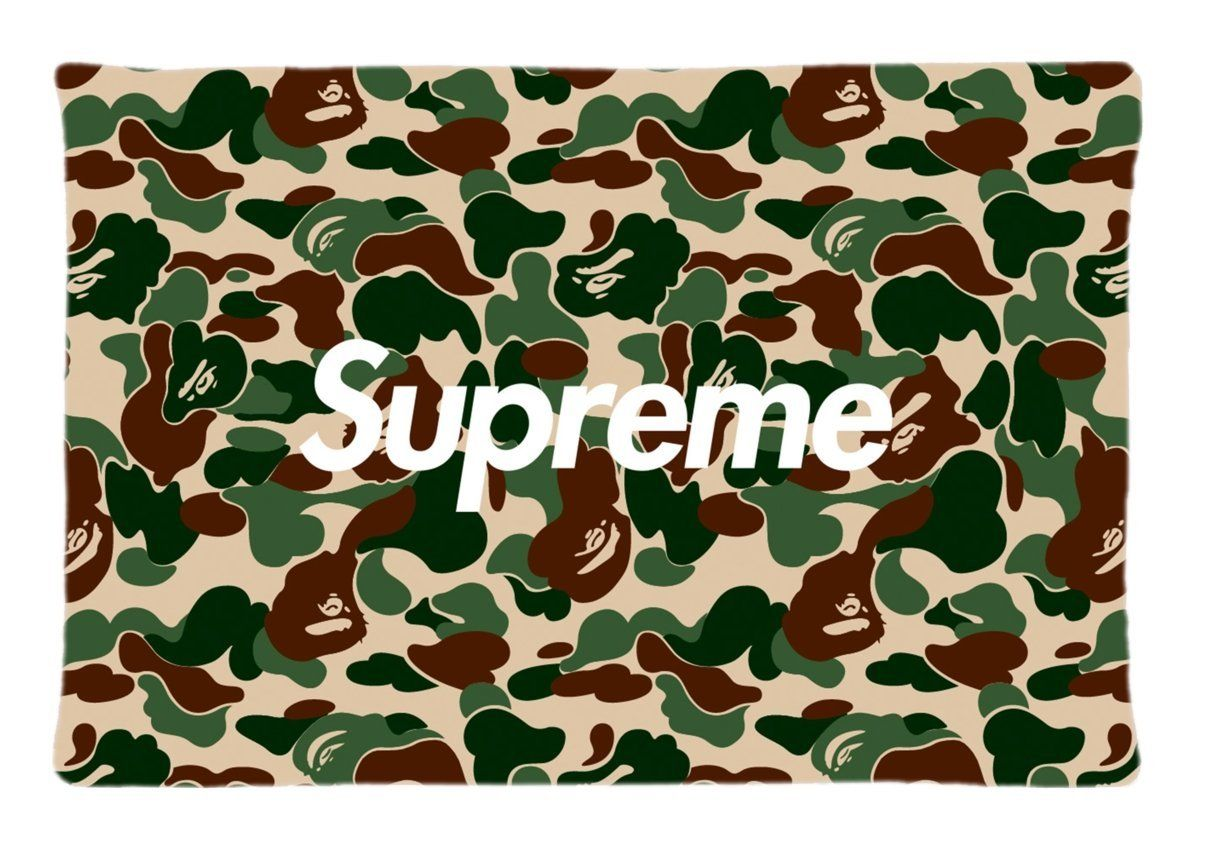 bape pattern unique fashion diy image custom pillow case