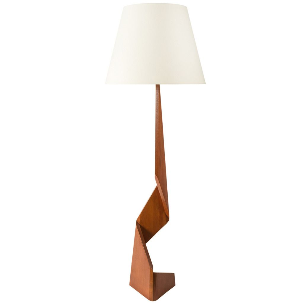 Sculptural Danish Floor Lamp