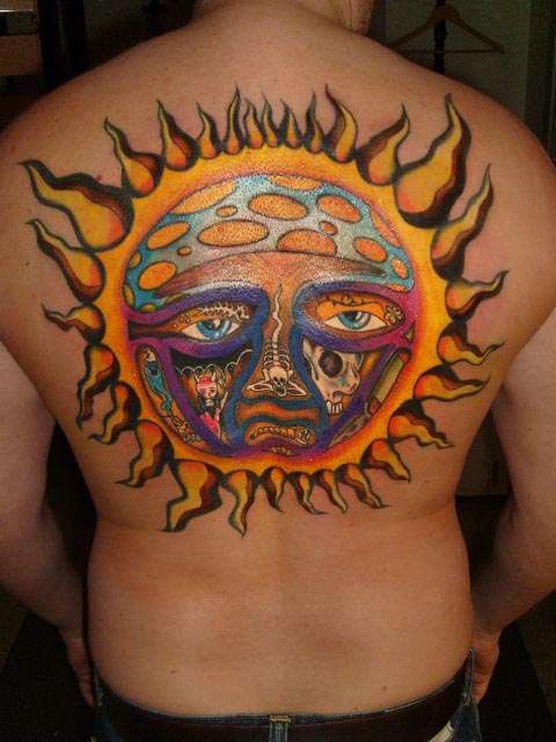 40 Sublime Tattoos For Men – Punk Band Design Ideas