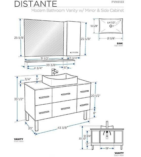 Types Of Bathroom Vanity Height