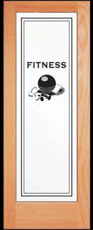 Fitness room dooris online interior door company offers custom fitness room dooris online interior door company offers custom specialty themed doors planetlyrics Image collections