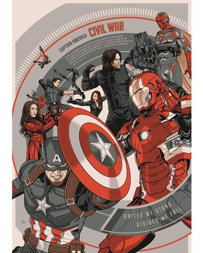 Captain America: Civil War by Amien Juugo (2016) [899x1124]