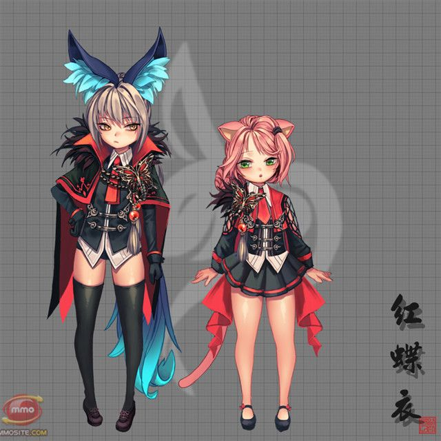 Bns Red Butterfly Fashion 11 Blade And Soul Blade And Soul Lyn
