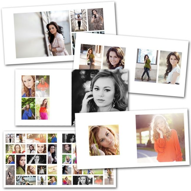 Photo Album Examples: Indesign Album Templates #photography #albumtemplates