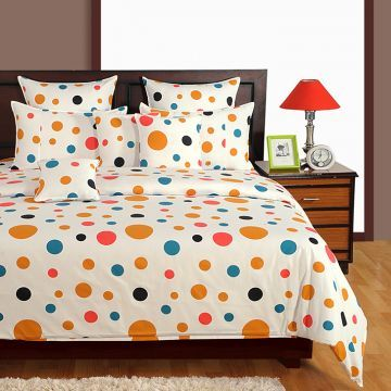 Bed Sheets   Buy Bed Linen, Designer Bed Sheet Set Online India   HomeTown