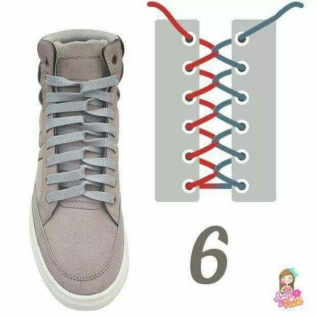 Pin Oleh Alamsyahputra Di Cara Ikat Tali Sepatu Model Sepatu