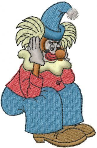 Free Sad Clown Embroidery Design Annthegran Free Embroidery