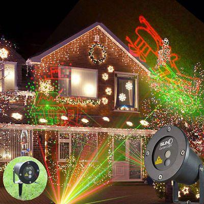 Aussen Garten Buhnen Licht Wasserdicht Led Laser Projektor Weihnachten Deko Xmassparen25 Com Sparen25 De Sparen25 Info Projektor Dekorative Beleuchtung Led