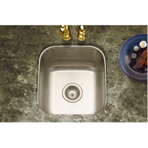 "Club Undermount Square Bar Sink 8""deep 18Ga Satin At Menards Enchanting Menards Kitchen Sinks Inspiration Design"