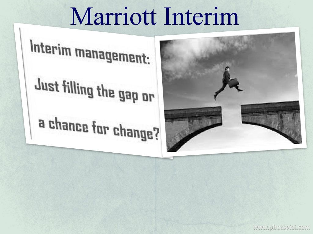 Marriott Interim provides you the best suggestion in