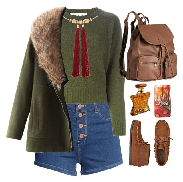 """Başlıksız #129"" by ebrarnur ❤ liked on Polyvore featuring H&M, Marni, Accessorize, American Eagle Outfitters and Bond No. 9"
