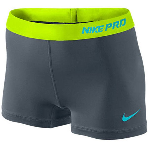 Nike Pro 25 Short 30 Liked On Polyvore Featuring