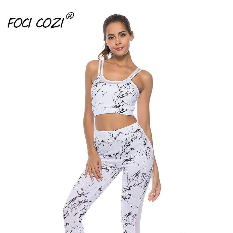 759f0d770c15e NEW STORE Two Piece Mesh Runway Set 2019 Summer White Two Piece Matching  Tracksuit Sets Ladies
