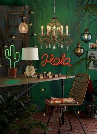 buy hola red feature led light from the next uk online shop cactus