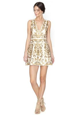 3928e2ff3a2 PRESCILLA EMBELLISHED DRESS by Alice + Olivia