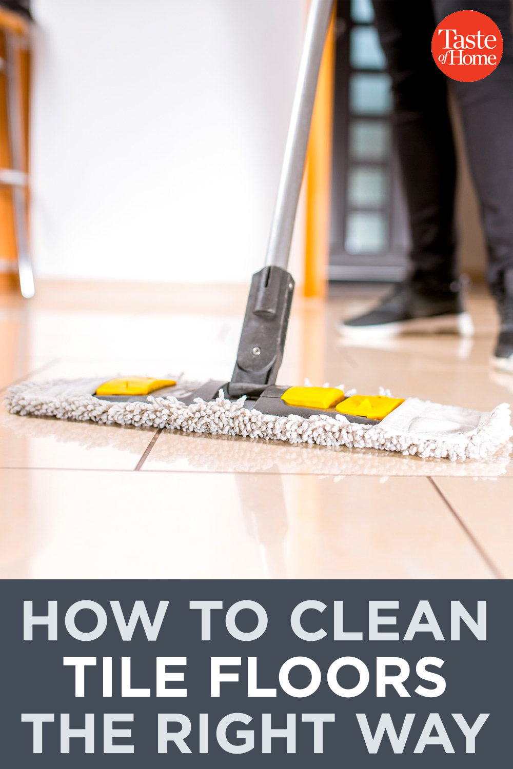How To Clean Tile Floors The Right Way Cleaning Tile Floors Clean Tile Tile Floor