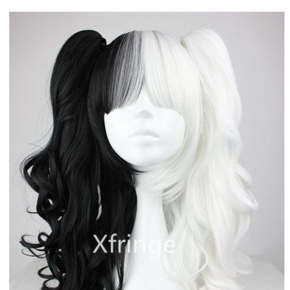 Dangan Ronpa Wig Dangan Ronpa Monokuma Female Ver By Xfringe 29 99 Wig Hairstyles Cosplay Hair Mixed Hair