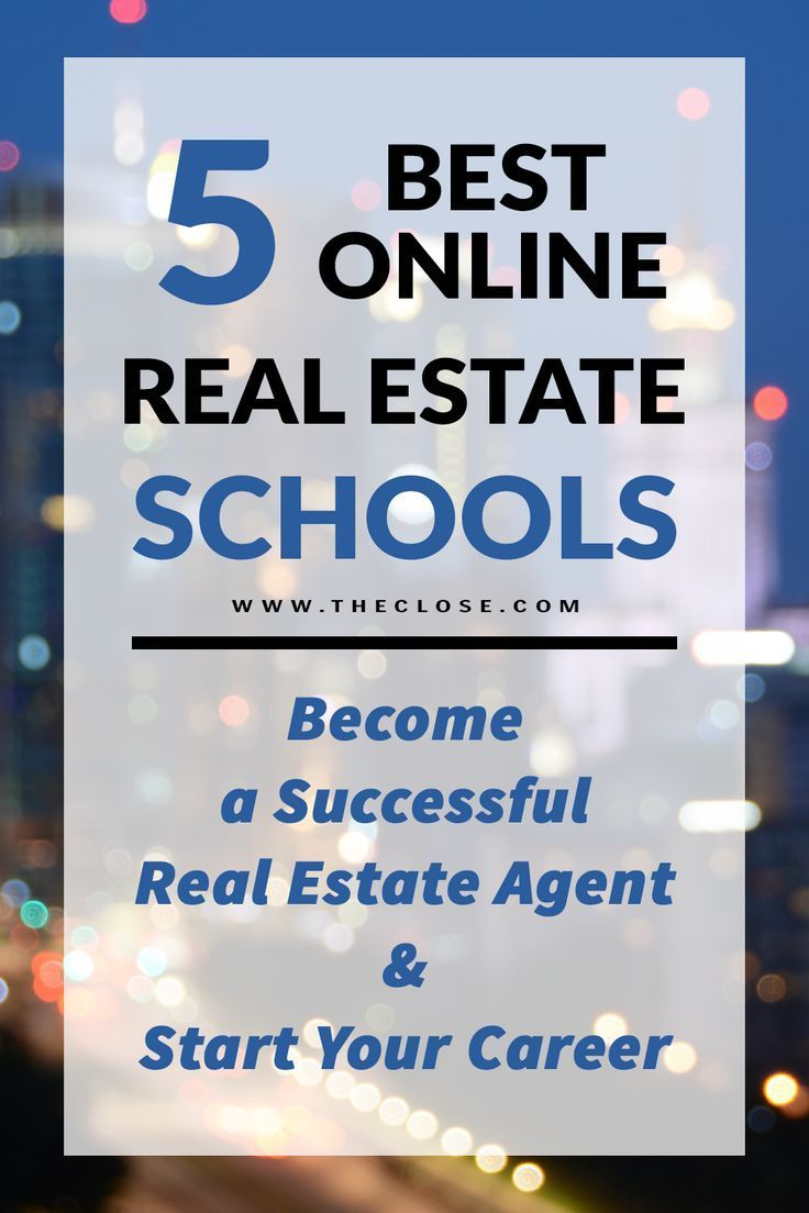 5 Best Online Real Estate Schools