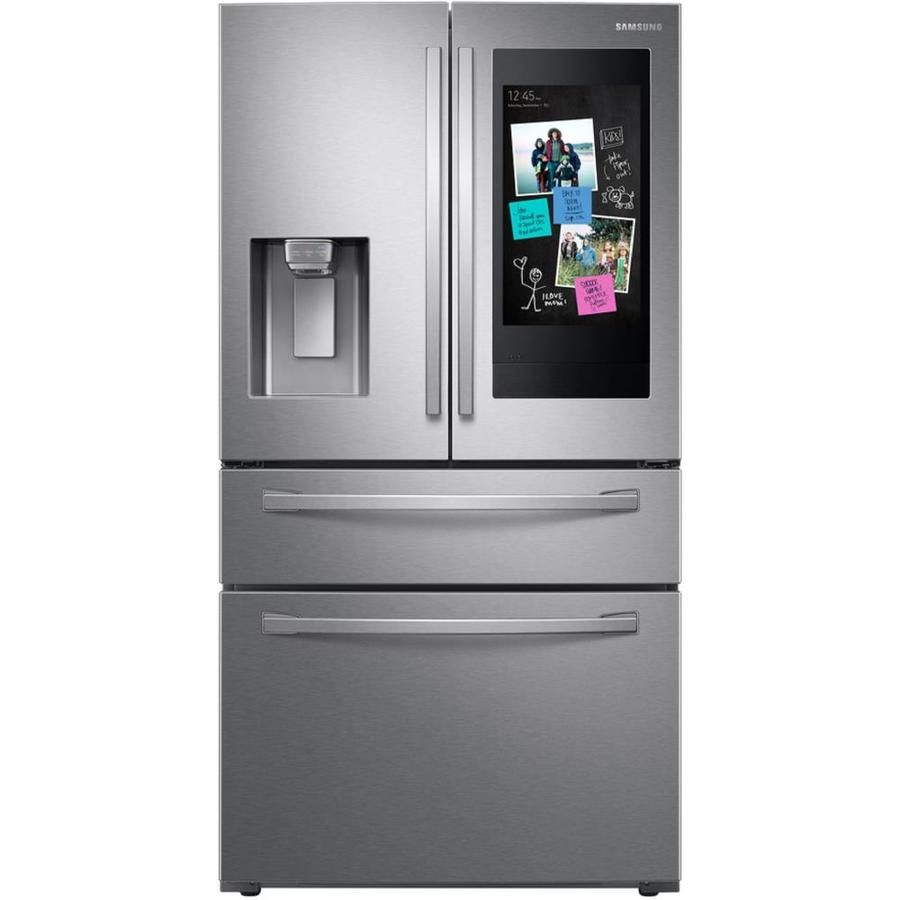 Samsung Family Hub 22 Cu Ft 4 Door Counter Depth French Door