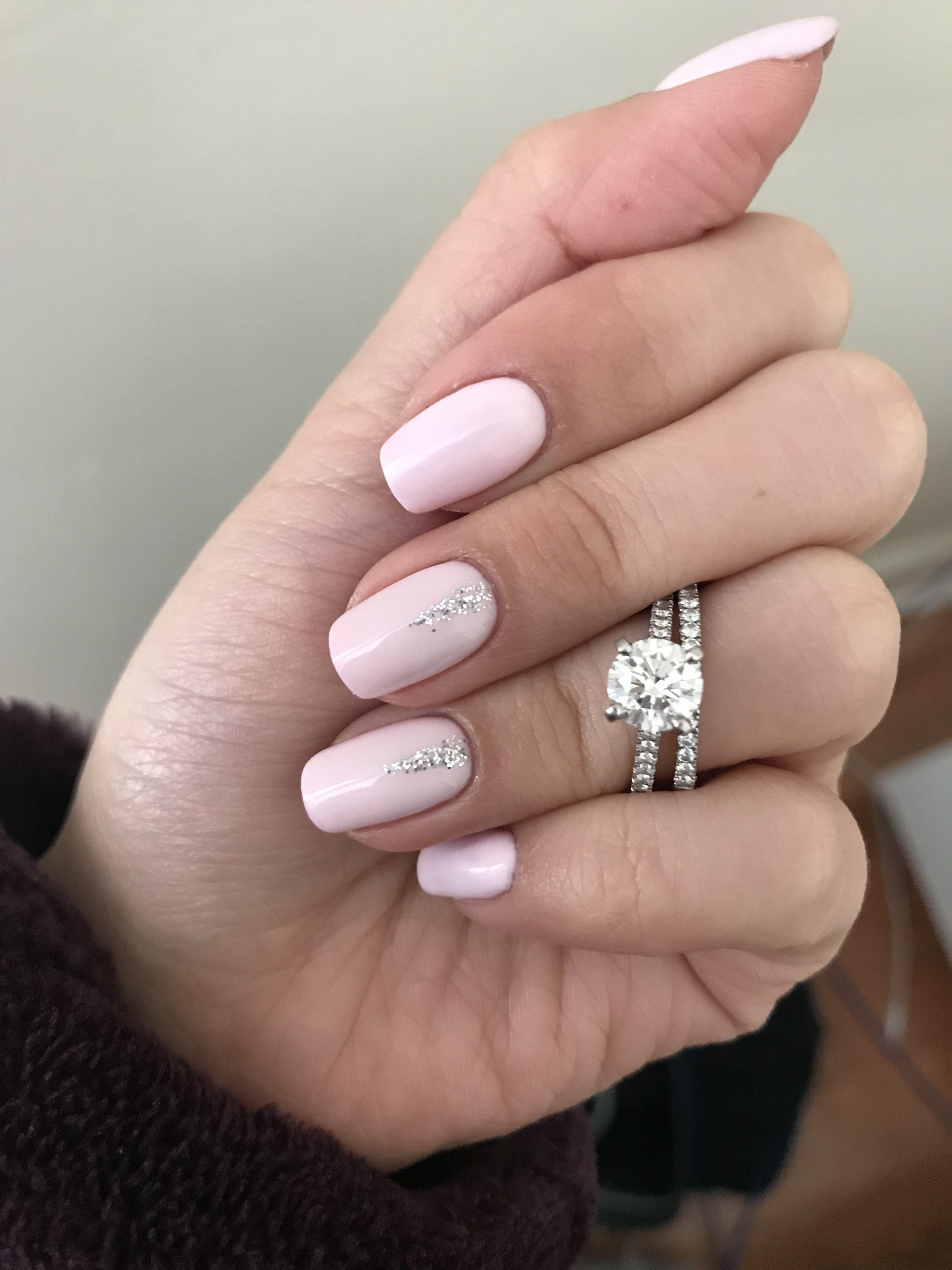 Engagement Ring Engagement Nails Designs Engagement Nails Wedding Day Nails