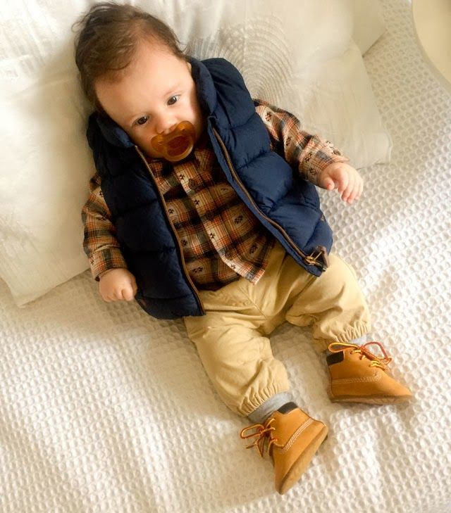 Baby boy outfits, Baby timberlands