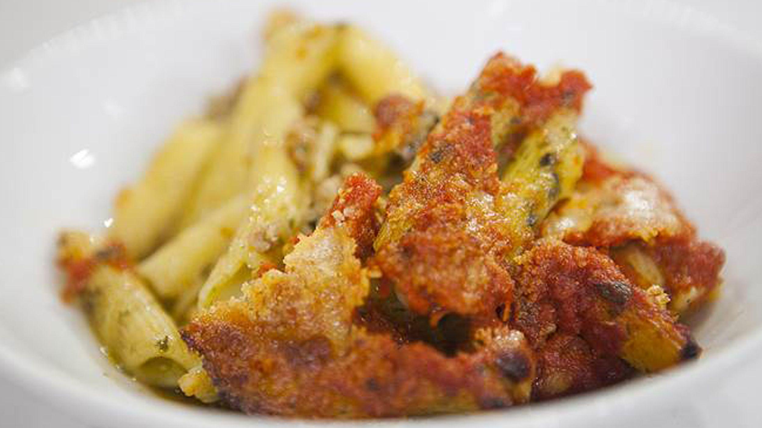 Giada De Laurentiis' baked pesto pasta casserole Recipe