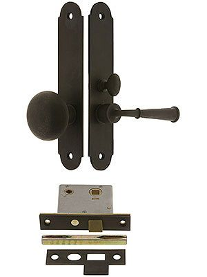 Buckingham Screen Door Mortise Lock Set With 1 1 2 Backset Mortise Lock Screen Door Wooden Screen Door