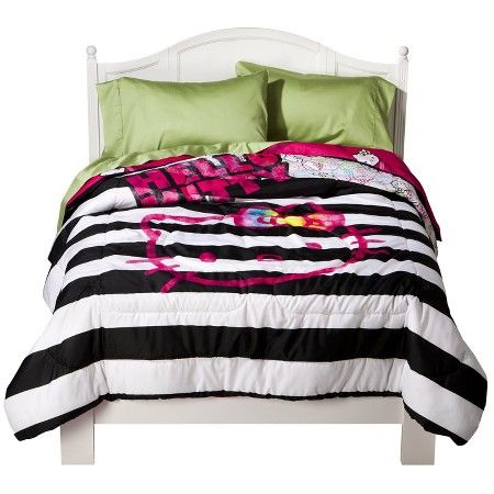 Hello Kitty Neon Comforter Full Target With Images