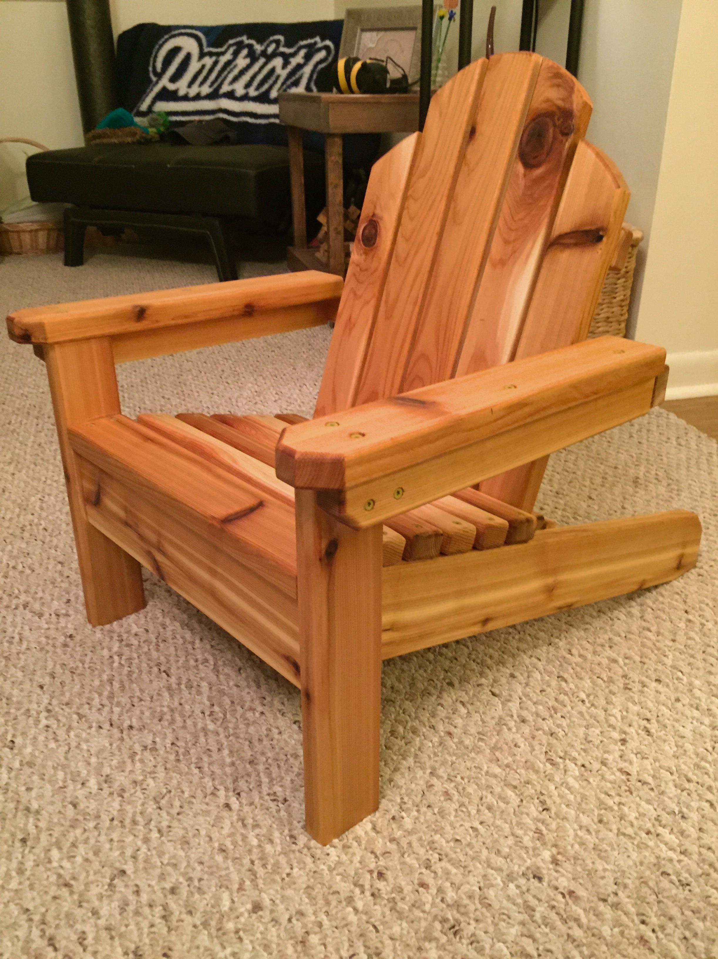 Mini Adirondack Chair | Do It Yourself Home Projects from Ana White