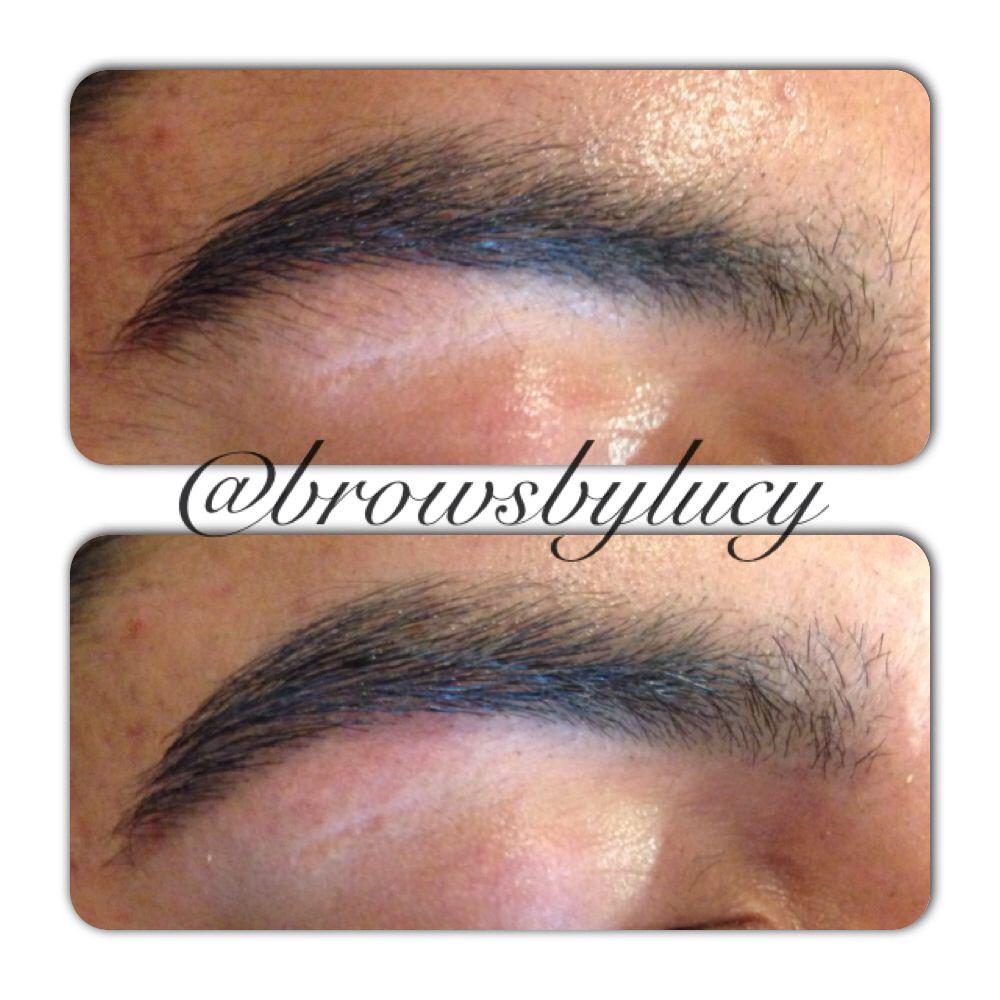Men Get Threaded Too Tt Threadingtuesday Just A Slight Clean Up Beforeandafter Menbrows Eyebrows Threading Bro Brow Threading Brows Beauty Salon