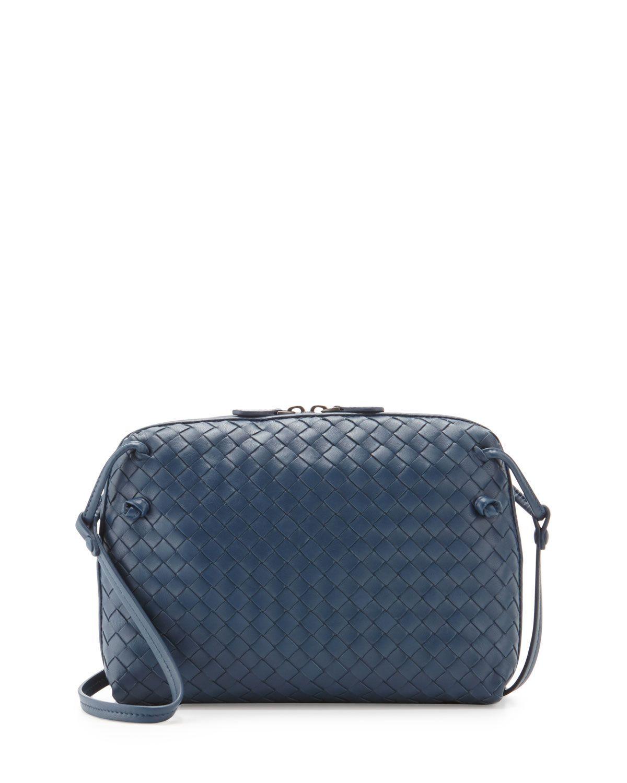 Intrecciato Small Zip Crossbody Bag 89bb938b40