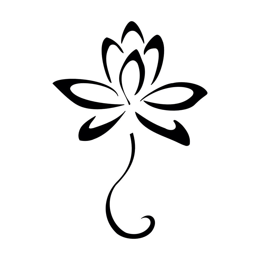 Another basic yet beautiful lotus tattoo idea tatus pinterest lotus flower clipart yoga yoga lotus flower design such izmirmasajfo