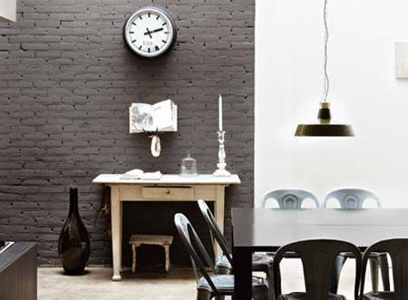 Decorating Options For Face Brick Homes Painted Brick Walls